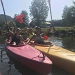 Sportvakantie Ardennen Bohan kajakken op de Semois vanuit Alle - Vresse - Membre - Bohan