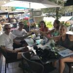 Sportvakantie Ardennen Bohan uit eten na een sportieve dag