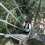 Sportvakantie Ardennen Rochehaut Bouillon laddertjeswandeling Les Echelles