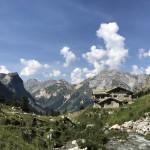 Sport reis in de Franse Alpen: wandelen, lopen en mountainbiken: Pralognan La Vanoise nabij Courchevel