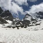 Lac des Vaches onder de sneeuw