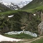 Onderweg naar Lac Blanc