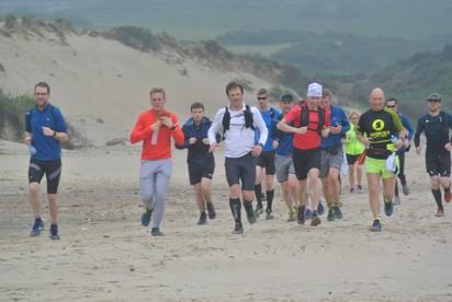 Cap Gris Blanc Nez running