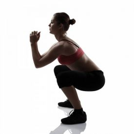 Core stability oefeningen: squat